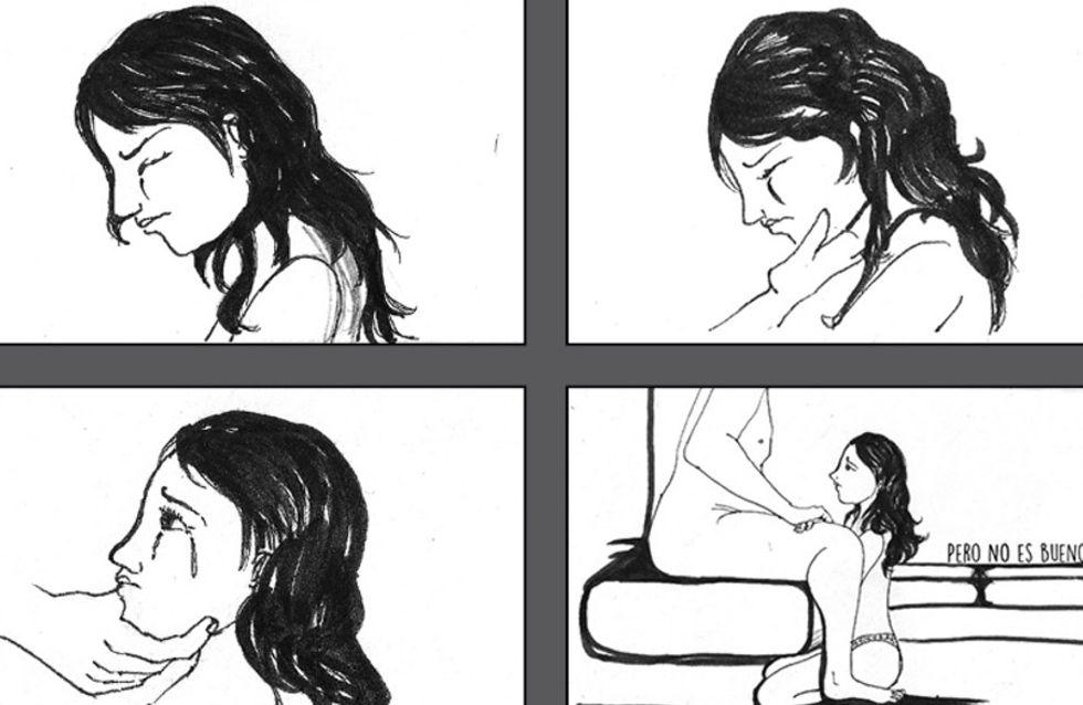 #YoTeCreo: el cómic que cuenta la dura historia de la violación de Ana