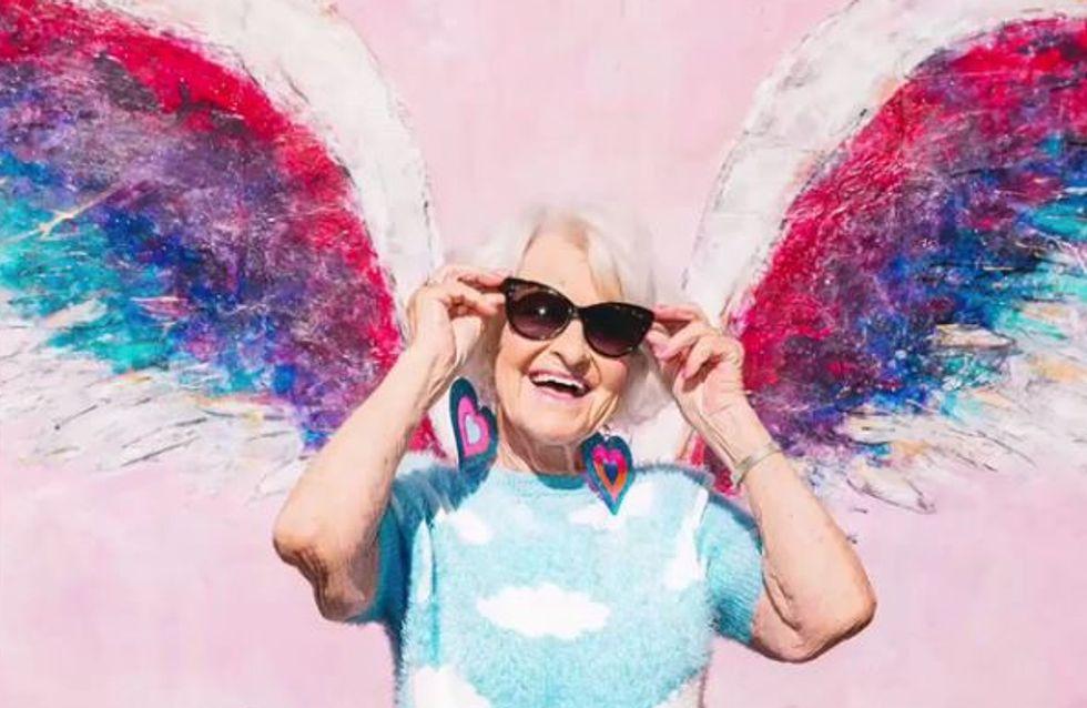 À 88 ans, elle est la nouvelle égérie beauté déjantée et sexy d'Urban Decay (photos)
