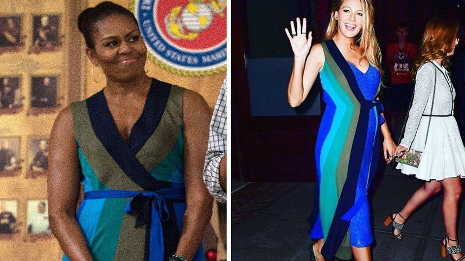 Oui, Michelle Obama s'inspire du style de Blake Lively (Photos)