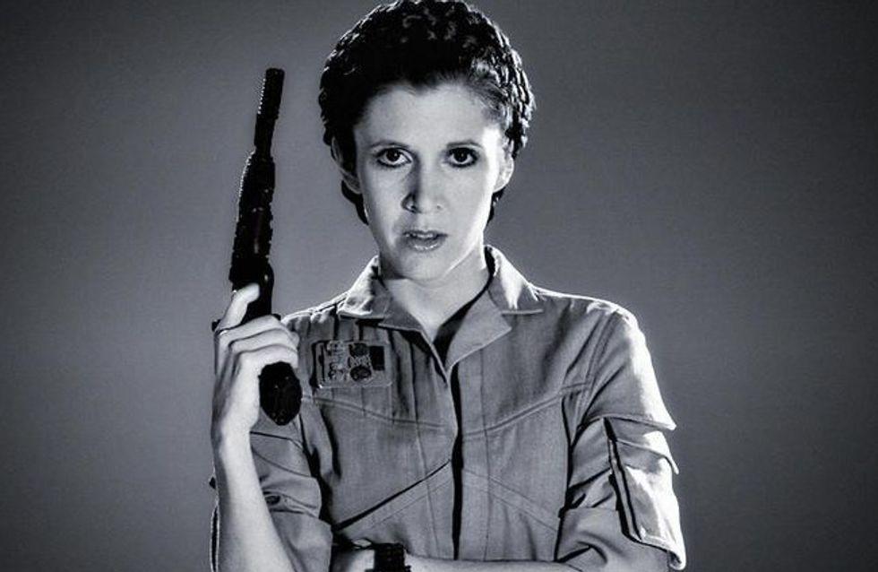 Carrie Fisher, la princesse féministe la plus badass de tous les temps (Photos)
