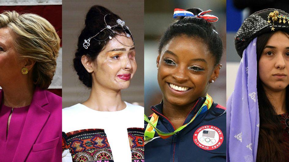 Ces femmes qui ont marqué l'année 2016 (Vidéo & Photos)