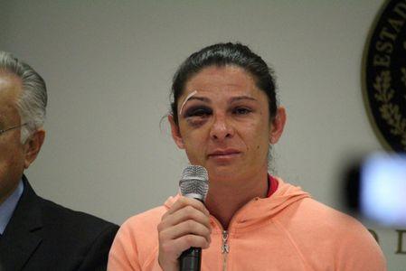 Ana Gabriela Guevara a été tabassée et insultée