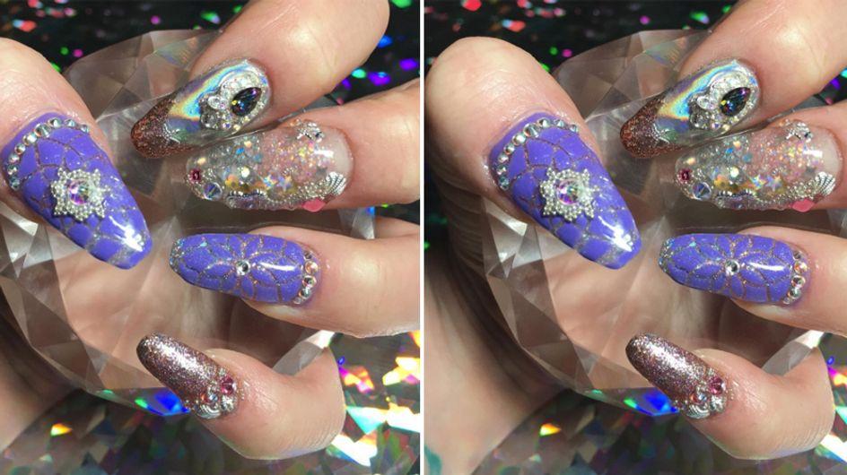 Aquarium Nails are Here to Make Your Mermaid Dreams Come True