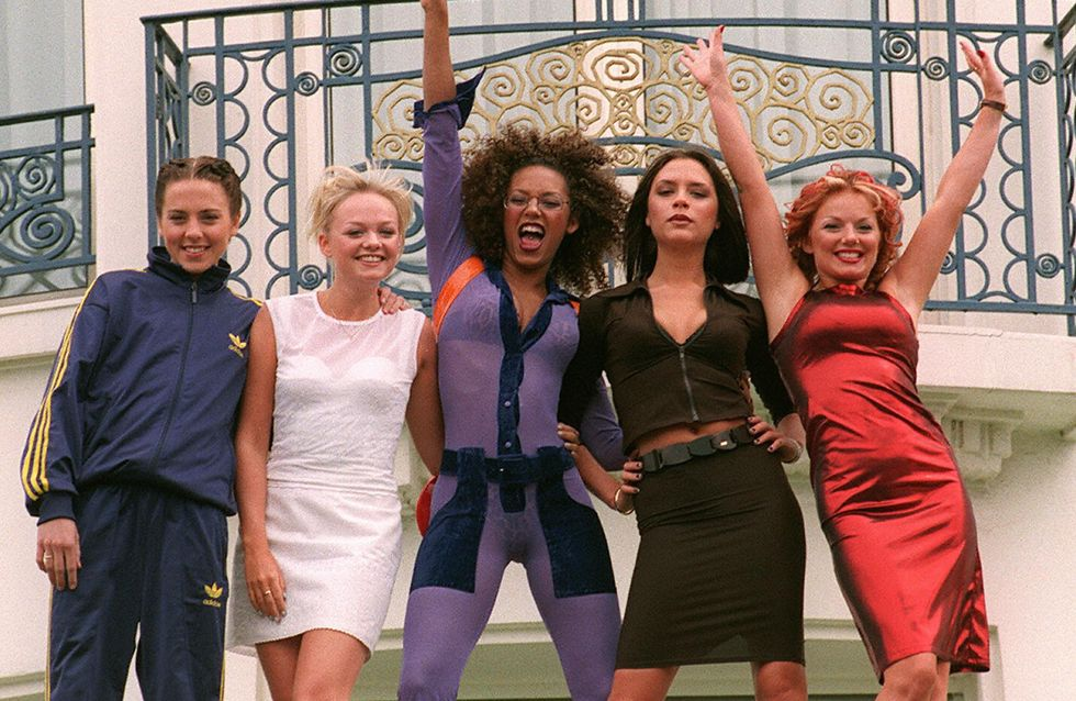 Pour le Nouvel An, nous avons eu droit à une mini réunion des Spice Girls ! (Photos et video)