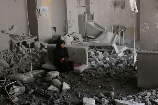 Ciudad de Alepo, Siria