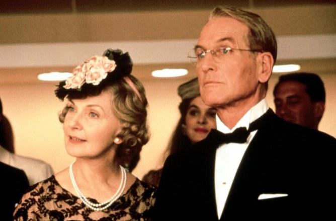 Joanne Woodward y Paul Newman (mujer y marido)