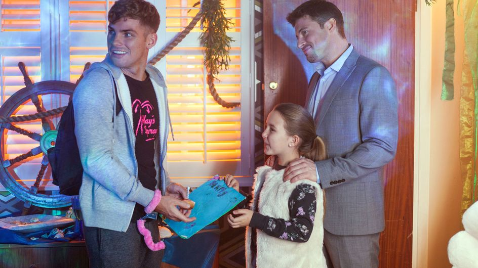 Hollyoaks 09/01 - It's Ste's Birthday And He Wants To See His Kids
