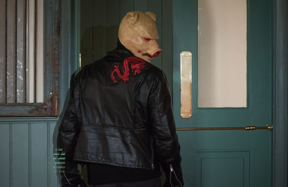 Hollyoaks 13/01 - A Masked Intruder Raids The Dog