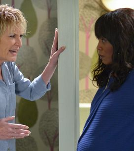 Eastenders 10/01 - Shirley Confronts Denise About The Father Of Her Baby
