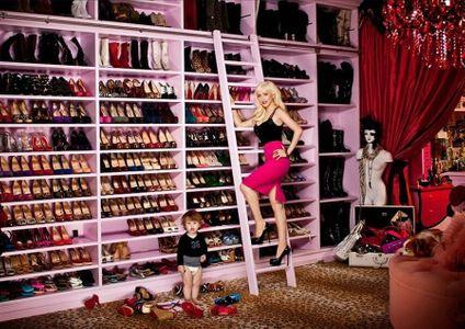 El vestidor de Christina Aguilera