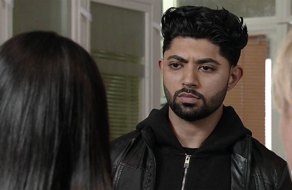 Coronation Street 11/01 - Zeedan Sees Red Over Ayla's Disloyalty