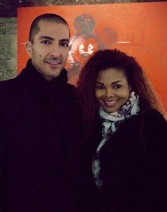Janet Jackson et son époux