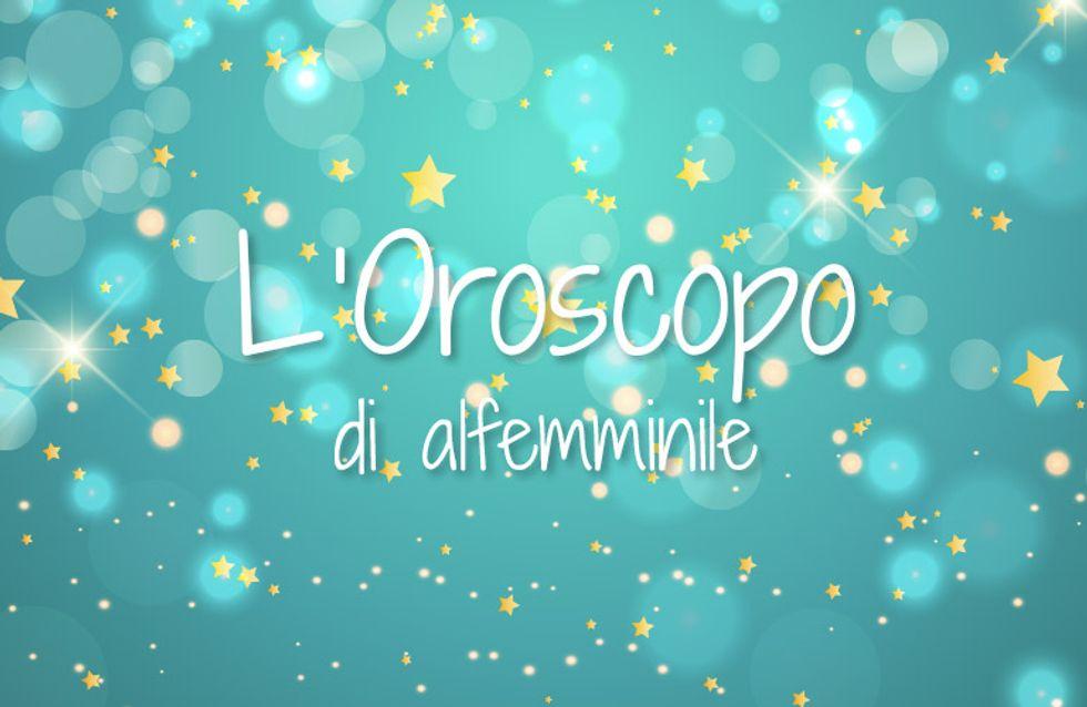 Oroscopo settimanale di alfemminile: dal 9 al 15 gennaio