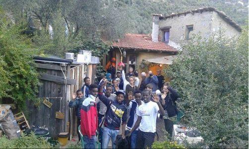 Les migrants chez Cedric Herrou