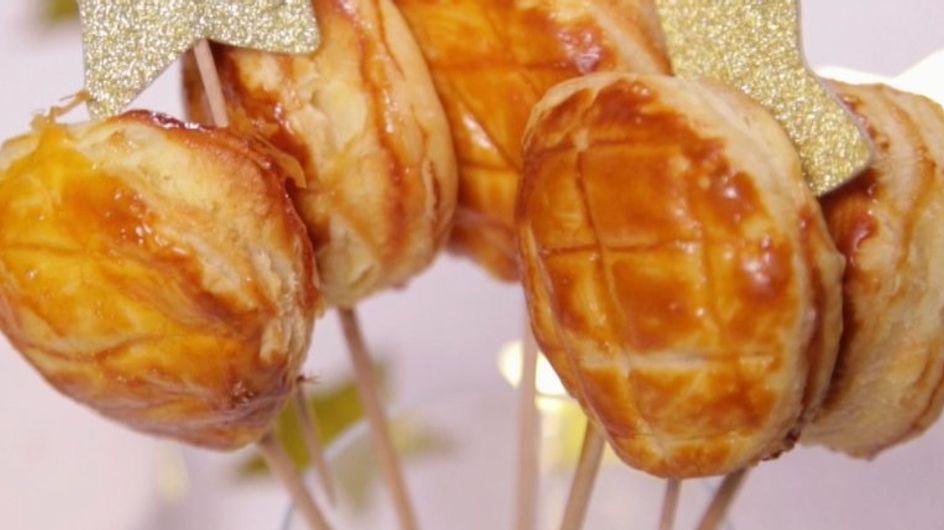 La recette de la galette des Rois sucette (vidéo)