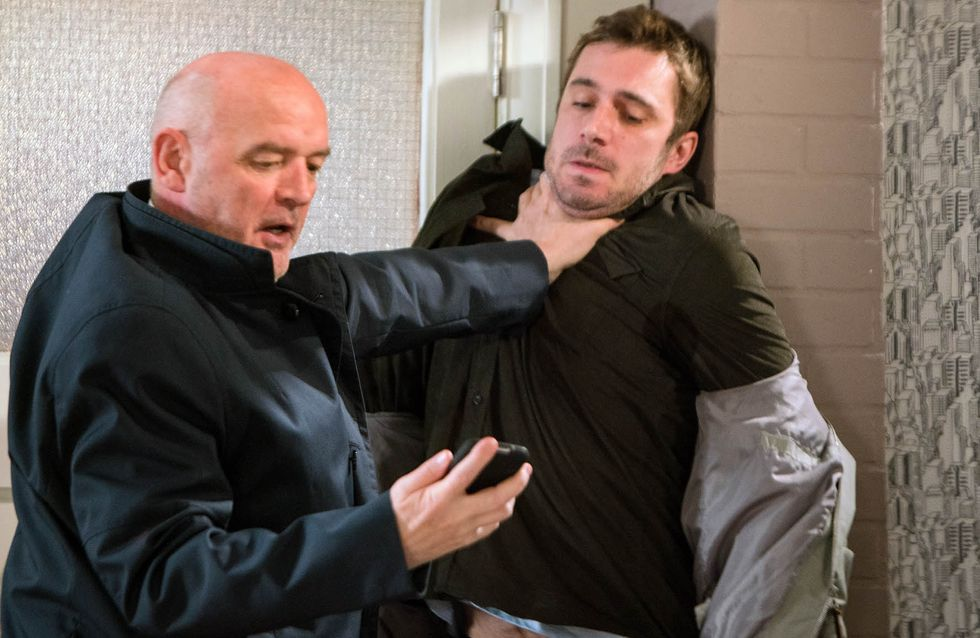 Coronation Street 20/01 - Andy Tries To Beat Phelan At His Own Game