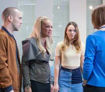 Hollyoaks 17/01 - Grace And Kim Rush To Esther's Side