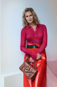 Lauren Hutton pour Bottega Veneta