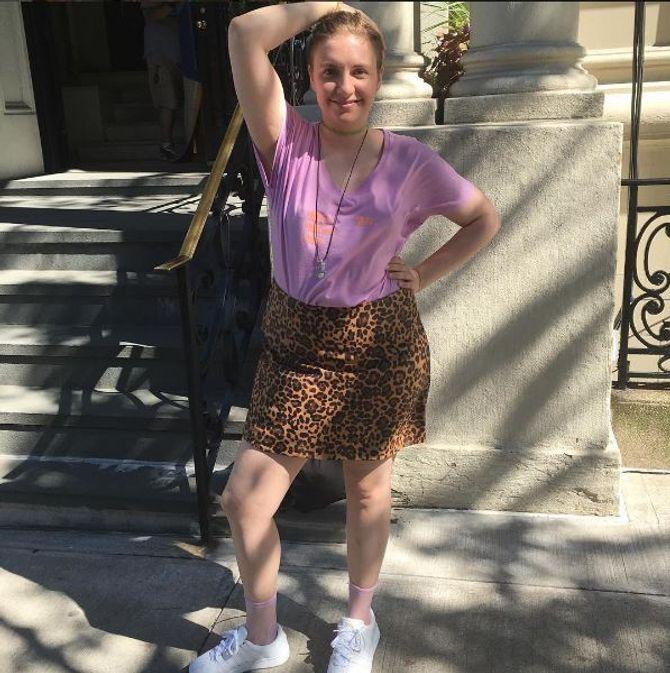 Lena Dunham, naturelle et sans complexe