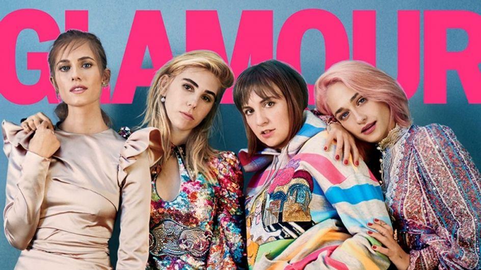 Le message fort de Lena Dunham à Glamour qui l'affiche en couverture sans aucune retouche