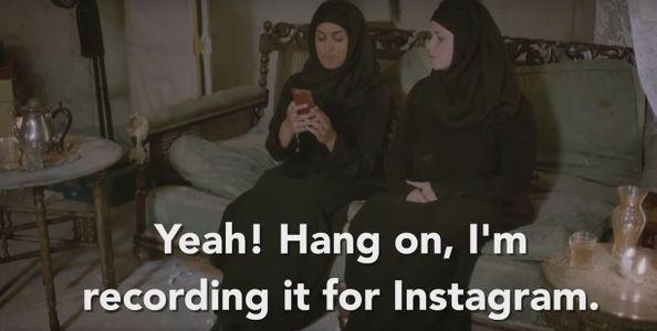 """Attends, je vais instagrammer ça"""