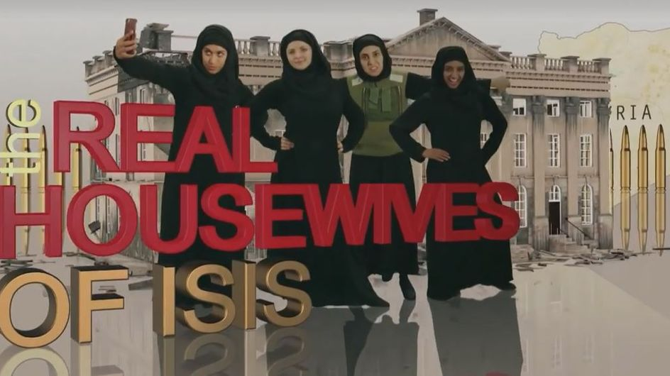 """""""Les vraies femmes au foyer de Daesh"""", le sketch qui scandalise le Royaume-Uni (Vidéo)"""