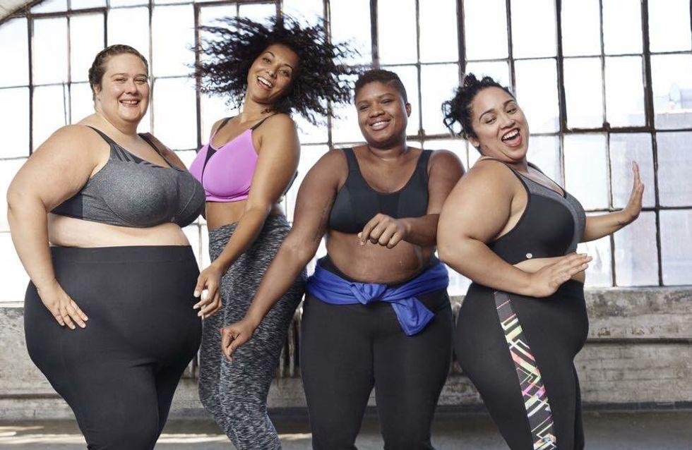 Cette publicité met en scène la diversité du corps féminin et c'est purement génial !