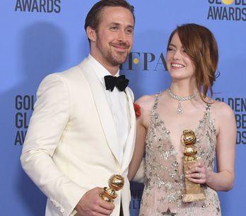 'La La Land' hace historia en los Globos de Oro: ¡descubre todos los ganadores y