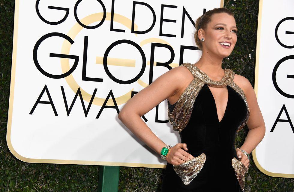 Arrêtez tout : Blake Lively vole la vedette aux lauréates des Golden Globes (Photos)