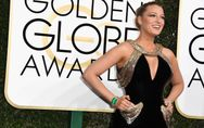 Fermi tutti! Blake Lively splende sul red carpet dei Golden Globes