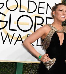 Fermi tutti! Blake Lively splende sul red carpet dei Golden Globes
