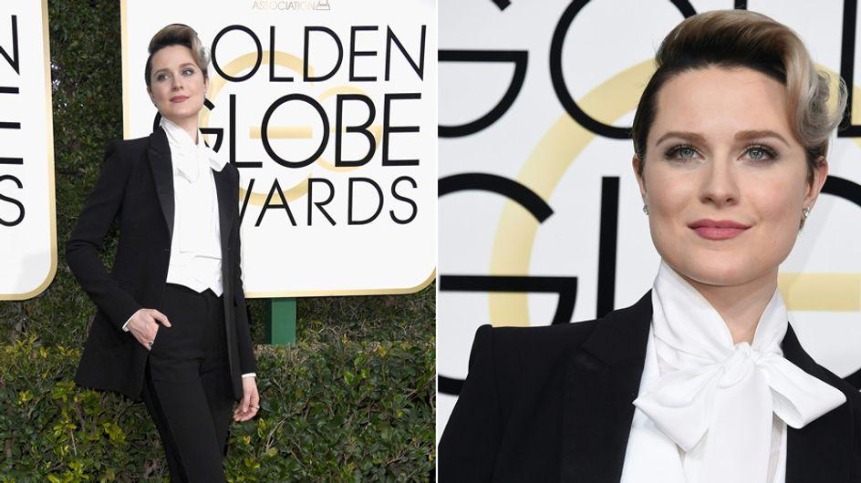 Schauspielerin trägt auf dem roten Teppich Anzug statt Kleid - und das aus einem wichtigen Grund