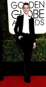 Evan Rachel Wood aux Golden Globes 2017