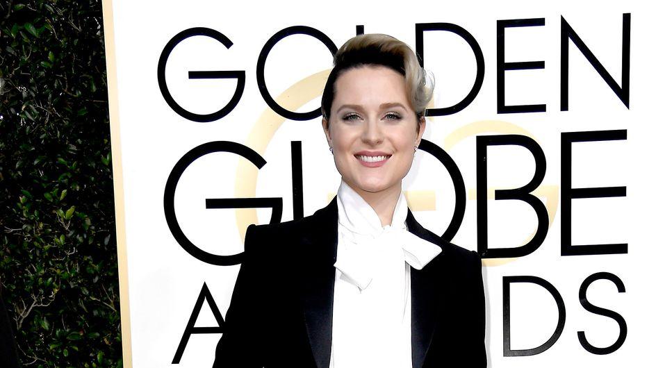 Evan Rachel Wood refuse de porter une robe aux Golden Globes pour une raison bien précise (Photos)