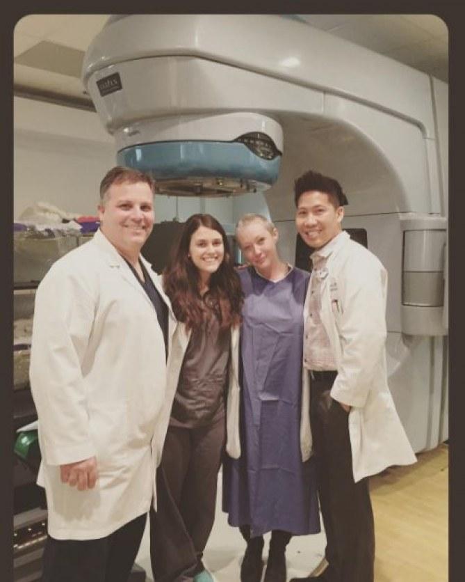 Shannen Doherty et ses médecins