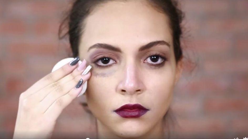 Au Maroc, un super tuto beauté dénonce les violences faites aux femmes (Vidéo)