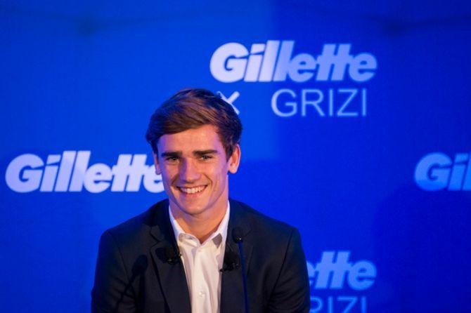 Antoine Griezmann ambassadeur Gillette