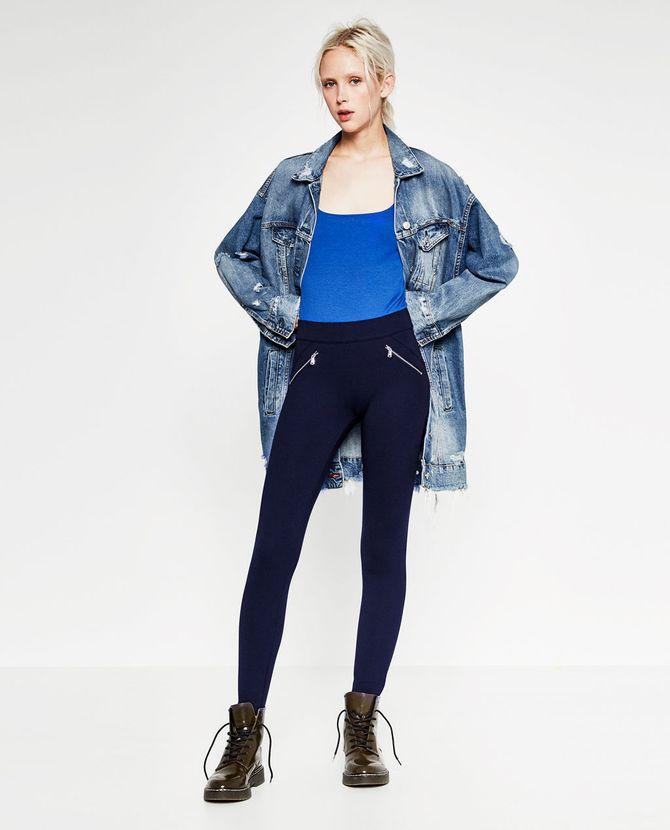 Modes des années 80 : le bleu cobalt