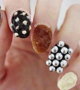 Manicura comestible: ¡llena tus uñas de chocolate!