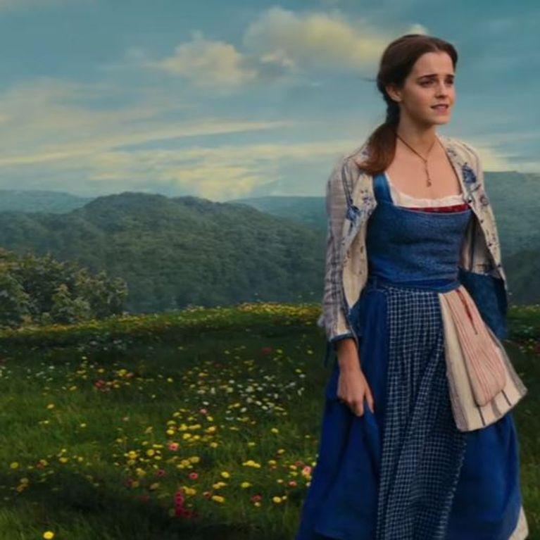 La Belle Et La Bete Emma Watson Chante Belle Et Nous Emerveille