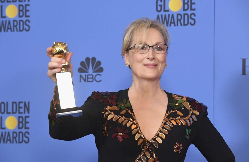 Meryl Streep ai Golden Globe: la violenza genera violenza, le parole forti dell'attrice