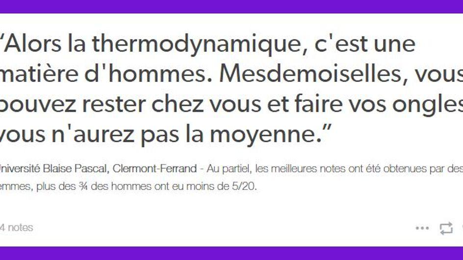 """""""Paye ta Fac"""" : Le nouveau Tumblr qui compile les commentaires sexistes navrants"""