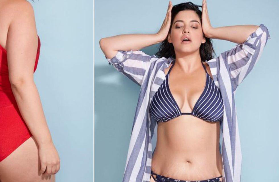 Dehnungsstreifen und Dellen: Diese Bikini-Werbung zeigt uns, wie schön Natürlichkeit ist