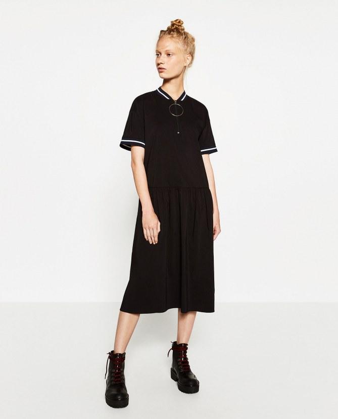 La robe Zara, 17.99 euros au lieu de 49.95 euros