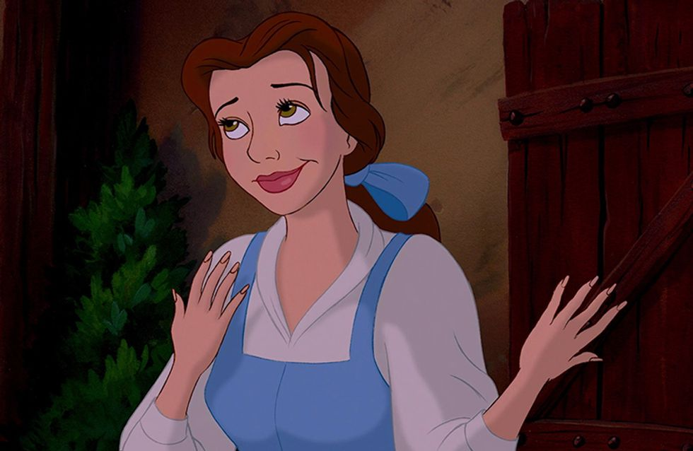 Be The *Belle* Of The Ball With This New Beauty And The Beast-Inspired Nail Polish