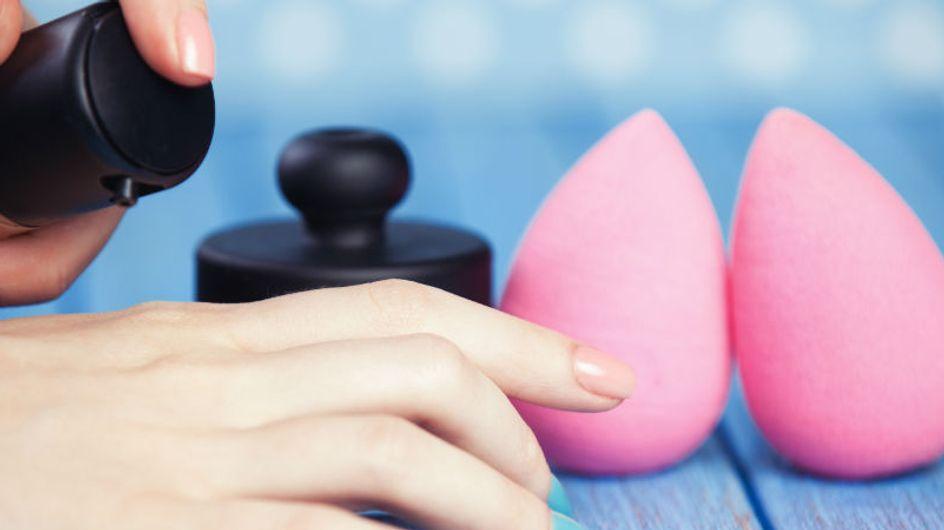 Será que você cuida bem da sua beauty blender?