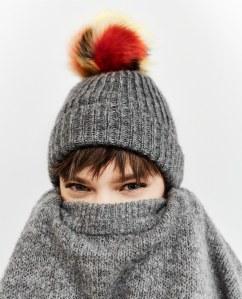 Berretto Zara inverno 2017