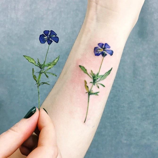 Tatuajes con plantas