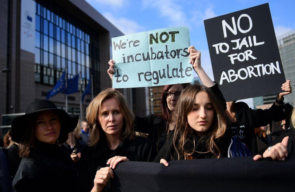 Les Polonaises, récompensées du prix Simone de Beauvoir pour leur magnifique combat pour l'avortement (Photos)