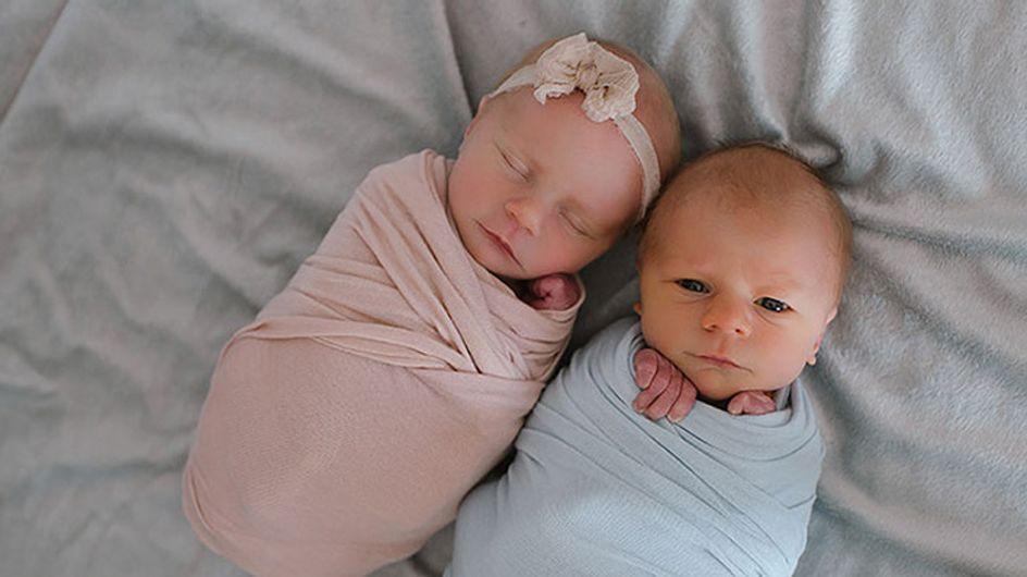 Estos bebés posan en una emotiva sesión de fotos antes de separarse para siempre
